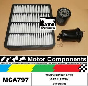 FILTER-SERVICE-KIT-for-TOYOTA-CHASER-GX100-1G-FE-2L-PETROL-09-96-gt-08-98