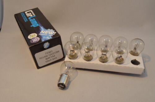 10 pcs P21//5w 21w 5w 12v BAY15D Annealing Lamp Bulb Brake End Light 10X