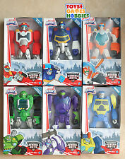 "Transformers Rescue Bots 10"" Figures Blades Heatwave Chase Boulder Salvage Blurr"