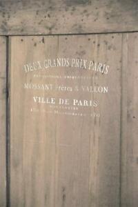 Jeanne-d-039-Arc-Living-Stencil-Ville-de-Paris-Shabby-Schablone-Wiederverwendbar