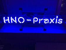 HNO - PRAXIS OhrenArzt Leuchtreklame Neon signs Neonreklame Neonwerbung Reklame