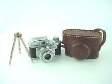 Rubix 16 Sugaya Model II Vintage Sub-miniature Spy Camera w/25mm Hope Lens -Rare