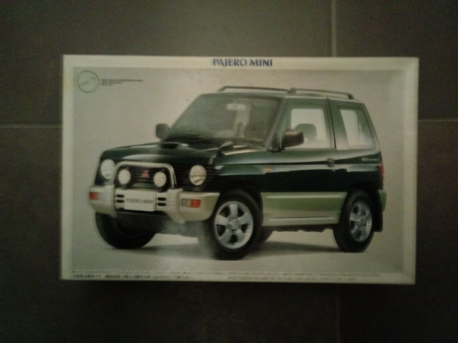 Kit de montaje Mitsubishi Pajero Escala1 24 Fujimi