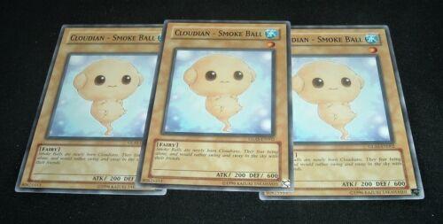 Smoke Ball GLAS-EN002 NM//MINT 3X Common 1st Edition Yugioh Cloudian