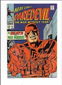 Daredevil-41-June-1968-Death-of-Mike-Murdock