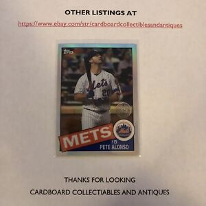 PETE ALONSO 2020 Topps Chrome 35th Anni REFRACTOR SP INSERT!🔥🔥