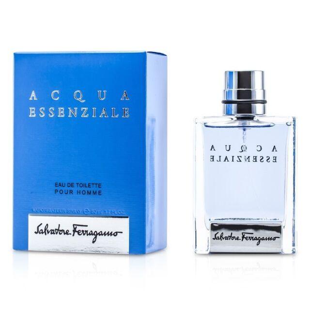 Salvatore Ferragamo Acqua Essenziale Eau De Toilette Spray 50ml Mens Cologne