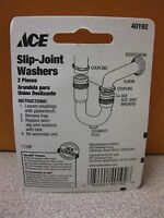 Ace Hardware Slip Joint Washers 40192 2 Pack 1-1/2 Free Shipping