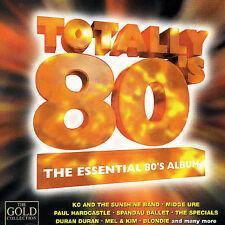 TOTALLY 80'S - The Essential 80's Album [Import] (Duran, Duran, Blondie) CD