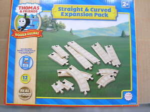 Details About Thomas Wooden Railway Straight Curve Expansion Pack