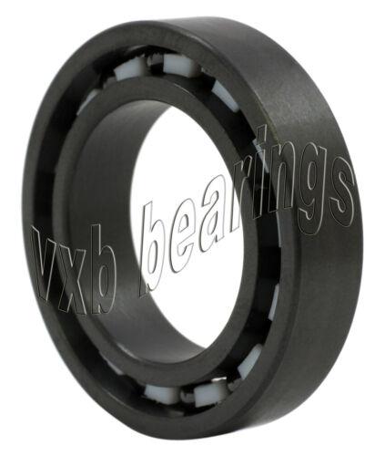12x21x5 12mm//21mm//5mm PTFE Ball Si3N4 Radial Ball Bearings 6801 Full Ceramic