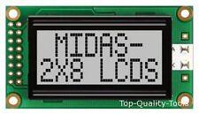 MC20803A6W-GPR - MIDAS - LCD, ALPHA-NUM, 8 X 2