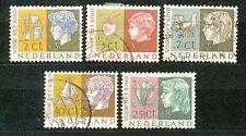 Nederland  612 - 616 gebruikt (3)