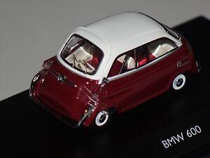 1//43 Schuco BMW 600 weiss//dunkelrot 450235600