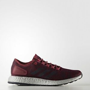 CG2987 Adidas Running Pure Boost Burgundy Silver Mens Sneakers Training New Gym