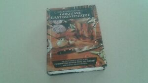 1961 THE WORLD AUTHORITY LAROUSSE GASTRONOMIQUE FIRST U.S. EDITION HC BOOK