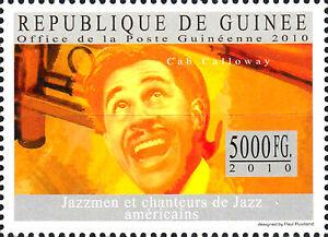 Guinea postfrisch MNH Cab Calloway Usa Sänger Musiker Jazz Musik Saxophonist