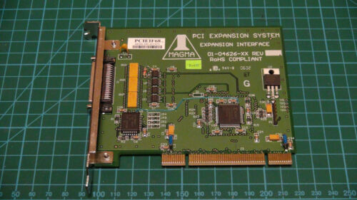 Magma PCI Expansion System Interface 01-04626-XX
