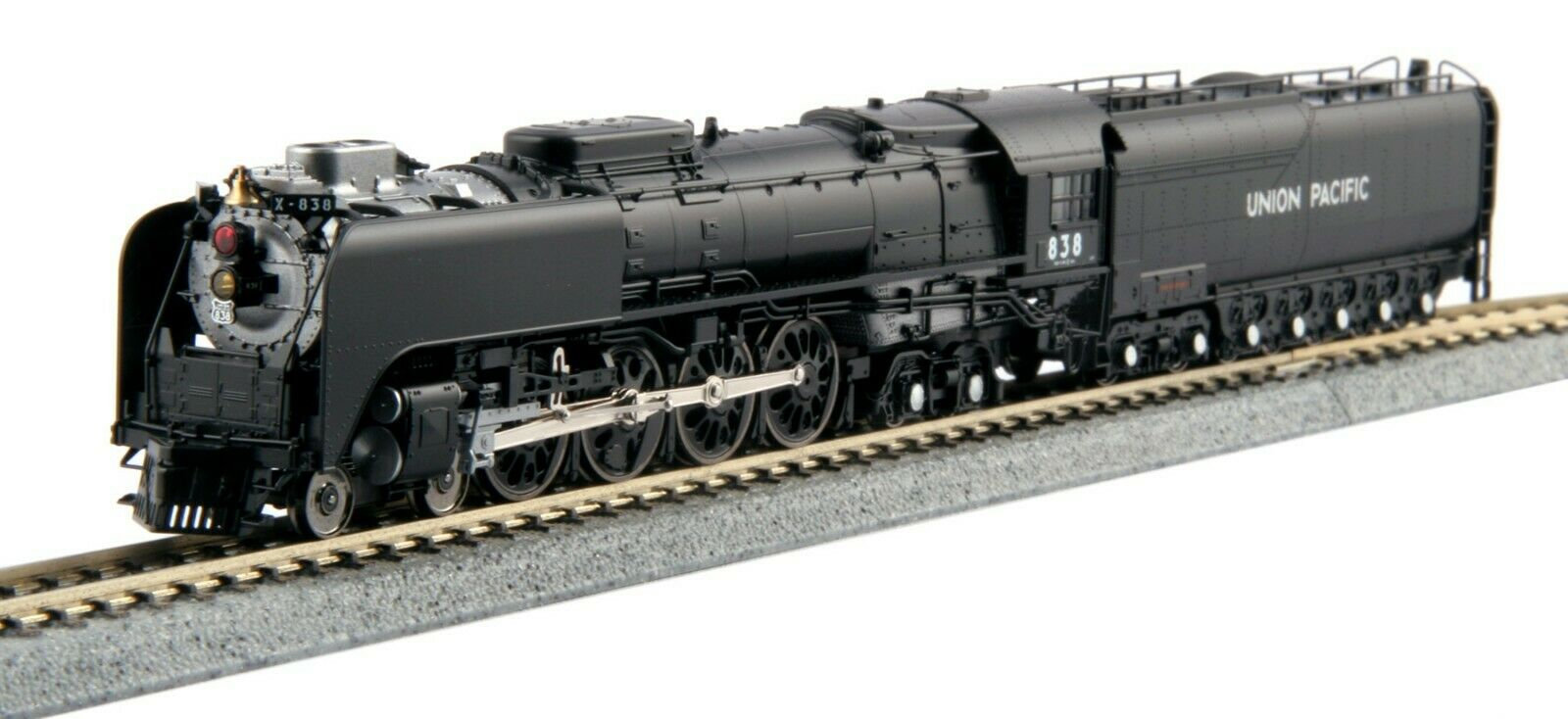 Kato 126-0402 N Scale 4-8-4 FEF-3 Loco Tender Union Pacific Freight 1260402