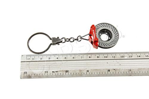 Original PORSCHE Schlüsselanhänger Bremsscheibe rot WAP0503020E