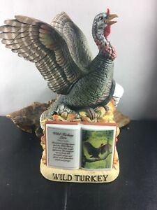 Wild Turkey Lore série 2 #4 1982 HANDCRAFTED PORCELAIN Decanter-afficher le titre d`origine ynAEK5LG-09091430-371854733