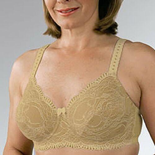 Classique Post Mastectomy Bra 766 Lace Underwire Many Sizes /& Colors Pretty!