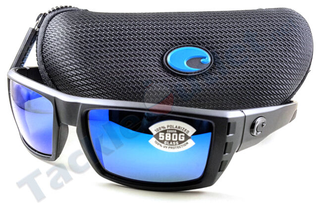 977490b90be Costa RFL01OBMGLP Rafael Sunglasses 580G Blue Mirror Lens Blackout Frame