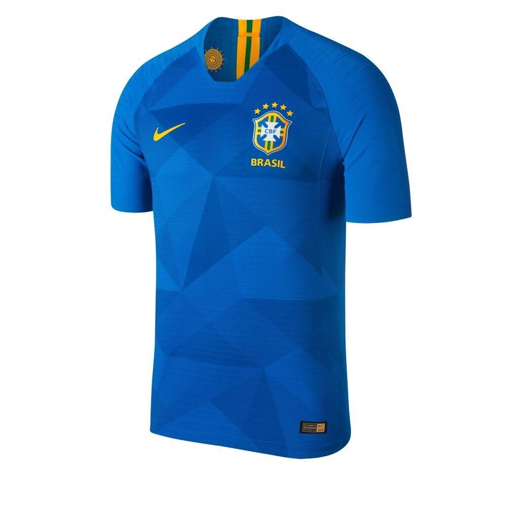 ORIGINAL Brasilien TrikotNike Größe S - brandneues Modell WM 2018 CBF blau
