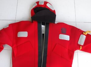 Details about CREWSAVER SOLAS MED Approved Neoprene Abandonment Immersion  Suit *U - SIZE*