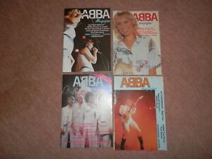 4-x-Abba-magazines-numbers-21-22-27-31-1980s