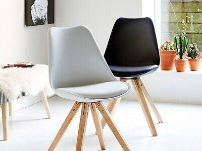 Spisebordsstol, Plast og træ, IKEA
