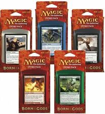 Born of the Gods Intro Pack - Set of Five Decks - ENGLISH - Sealed Brand New MTG
