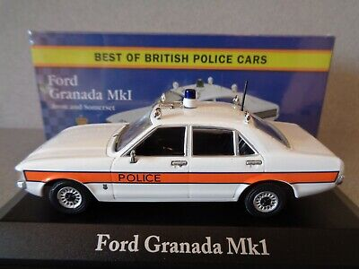 Atlas Editions 1:43 Scale Best Of British Police Cars Ford Granada Mk1