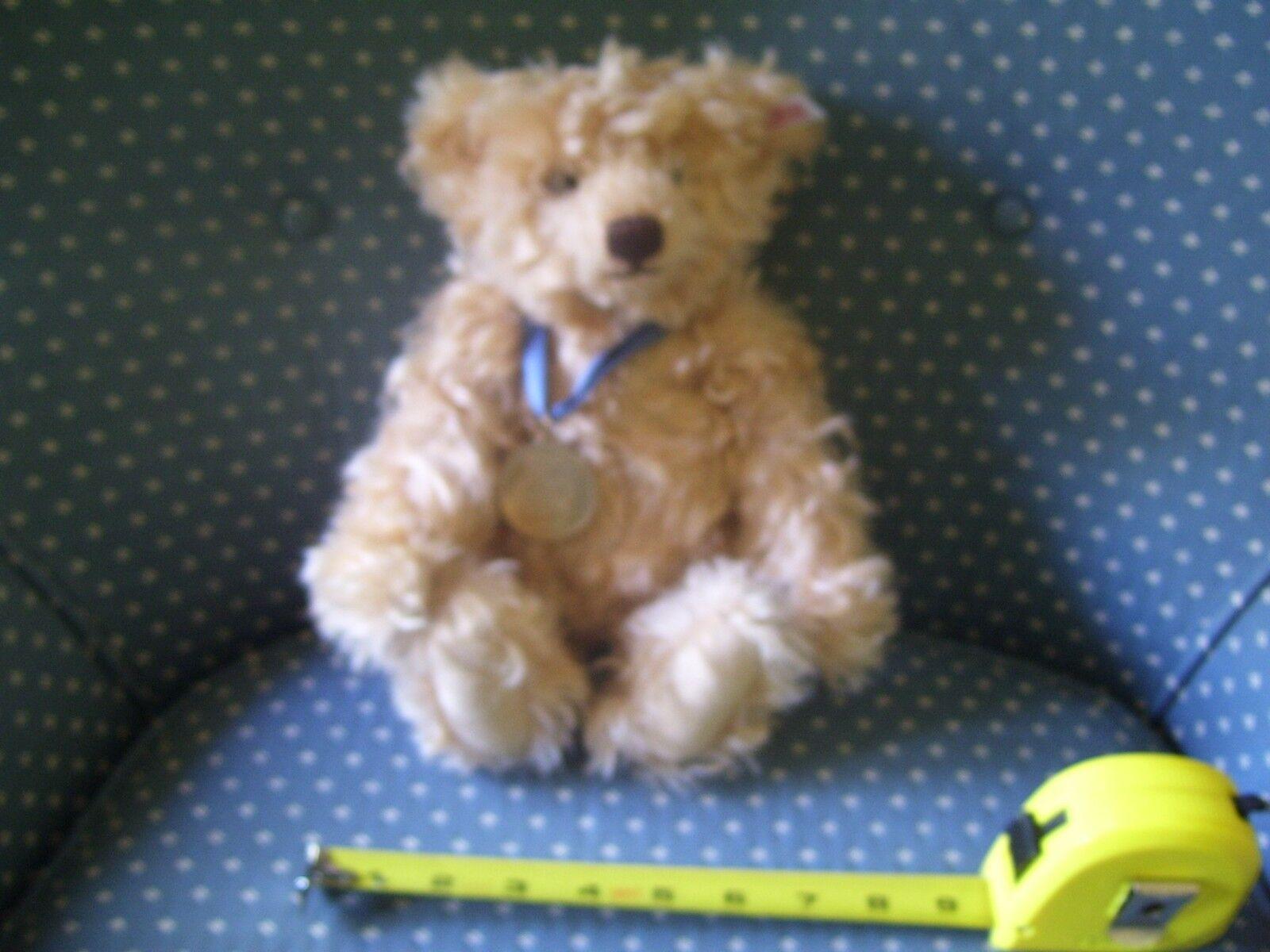 Steiff 2008 Danbury Mint Exclusive Classic Jointed Teddy Bear, Light marrone