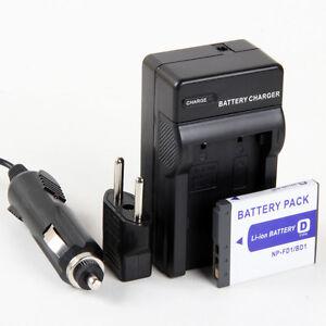 Cargador-Bateria-NP-FD1-NP-BD1-750mAh-para-Sony-Cybershot-Cyber-shot-DSC-TX1