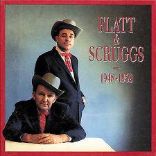 1948-1959 by Flatt & Scruggs (4-CD Set + Book, Feb-1991, Bear Family) Unopened!!