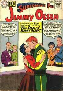 Superman-039-s-Pal-Jimmy-Olsen-1954-series-56-in-VG-condition-DC-comics-j8