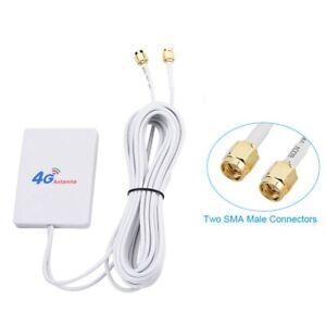 4G / 3G WiFi Antenne 28DBi LTE Amplificateur De Signal D'Antenne Routeur Mob Q2V