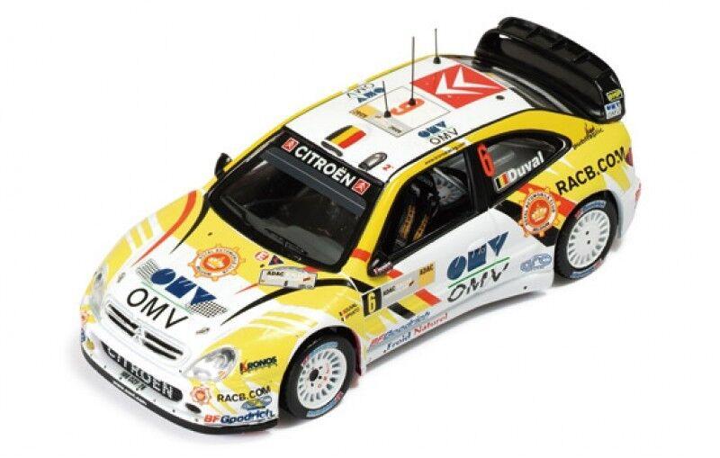 1 43 Citroen Xsara WRC  OMV  RACB  Rally Germany 2007  F.Duval