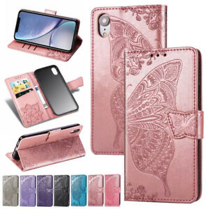 For-iPhone-11-Pro-XS-Max-8-7-6-Plus-Leather-Magnetic-Wallet-Card-Case-Flip-Cover