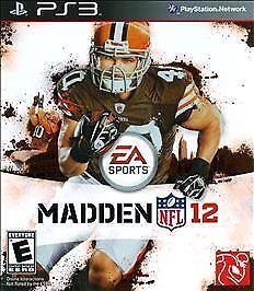 Madden-NFL-12-PlayStation-3-Video-Game-NIB-EA-Sports-NIP-PS3-Football
