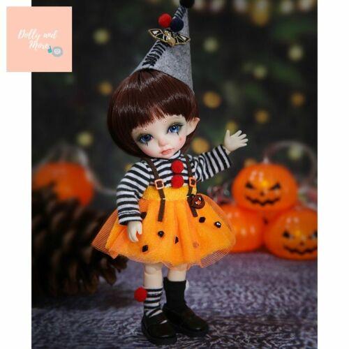 muñeca halloween kawaii cute tiny lati Pukifee Spring Fairyland bjd sd doll 1//8