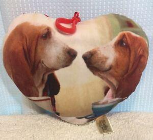 Dan-Dee-Heart-Plush-Valentine-Day-Basset-Hound-Dog-Love