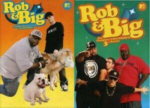 Rob & Big Complete Uncensored TV Series Seasons 1 2 & 3 (1-3) NEW DVD Set