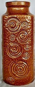 Vintage-Retro-West-German-pottery-vase-by-Scheurich-decor-Jura-282-26-27cm