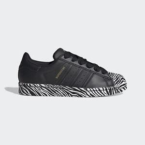 adidas AU Women Core Black Superstar Shoes