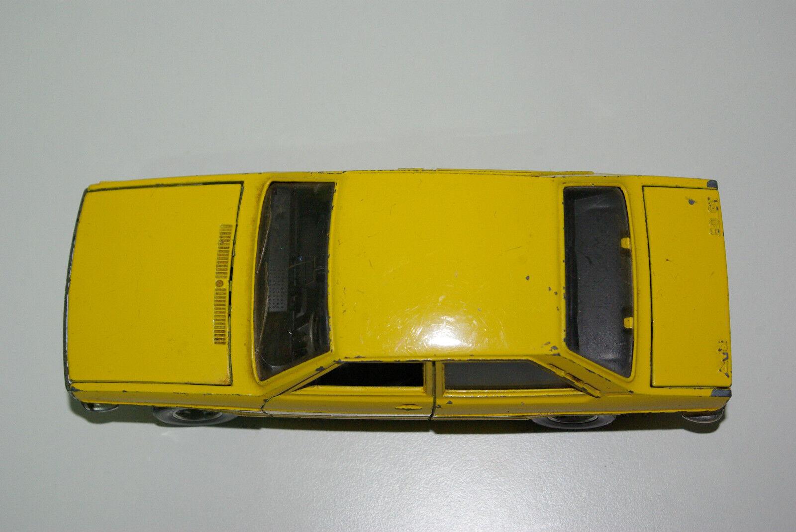 Bburago Burago 106 audi 80gt 80gt 80gt 80 GT amarillo excellent condition rare rara vez raro b7bbb9