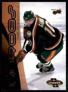 2000-01 Upper Deck Heroes Marian Gaborik Rookie #166