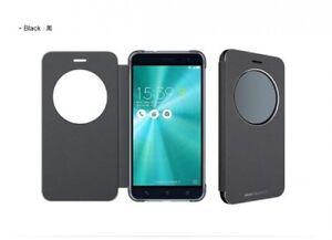 finest selection 9986f 40c0c Details about Asus Original ZenFone 3 5.2in ZE520KL View Flip Cover  Smartphone Case Black