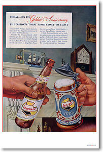 Falstaff-Beer-Vintage-Ad-Art-Print-NEW-POSTER